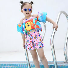 Kids Swimming Vest Life Jacket Arm Ring Safety Training Pool Float Accessories