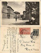 Perugia, corso Vannucci, animata 1920
