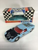 Vintage Scalextric C77 Ford Gt Car With Box Untested