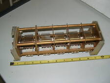 """Vintage Hammarlund 5 Section Variable Capacitor 200 pf/Section 0.015"""" Spacing"""