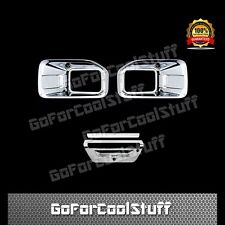 15-16 FORD F150 Fog Lamp/Lights Tailgate W/ Camera Chrome Cover