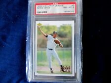 1992 UPPER DECK MINOR LEAGUE #5 - DEREK JETER - 1992 DRAFT PICK - GRADED NM-MT 8
