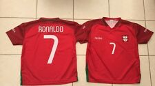 PORTUGAL BOYS / GIRLS RONALDO  FOOTBALL TEE SHIRT - APPROX 8-10 YEARS