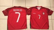 Portugal garçons/filles ronaldo football tee shirt-env. 6/8 ans