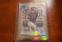JORGE POLANCO 2020 TOPPS GYPSY QUEEN CHROME GOLD REFRACTOR 40/50.