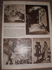 Photo article Lieut-General Sir G Ivor Thomas new Quarter master general 1950