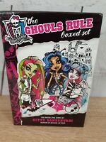 Monster High: The Ghouls Rule Boxed Set  Daneshvari, Gitty Free Shipping include