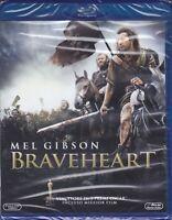 2 Blu-ray **BRAVEHEART** con Mel Gibson nuovo 1995