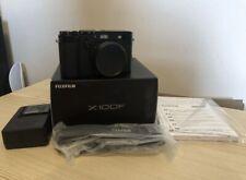 """Fujifilm X100F 24.3MP Mirrorless Digital Camera - Black """"Near Mint Condition"""""""