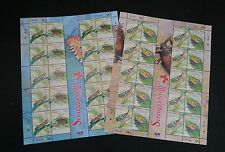 Insect Series III Malaysia 2007 Grasshopper Moth Beetle Bug (sheetlet) MNH *rare