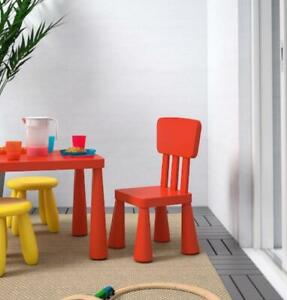 kids children chair table garden furniture indoor/outdoor in beautiful colours