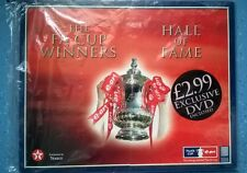 TEXACO F.A.CUP WINNERS HALL OF FAME IN BINDERS -  SET OF 24 TILES & DVD