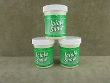 Lot of 3 Duncan Sp 406 Icicle Snow brush-on glaze 4 oz. look & texture of snow