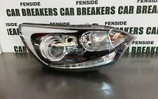 2012 KIA RIO MK3 - DRIVER SIDE O/S HEADLIGHT WITH LED DRL - PROJECTOR RHD #1521