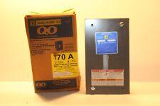 New Square D Circuit Breaker Load Center Q02-4L70F 70 Amp 120V 240V Series