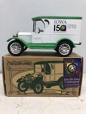 1/25 Chevy 1923 Truck Delivery Van Car Iowa Sesquicentennial 1846-1996 Bank ERTL