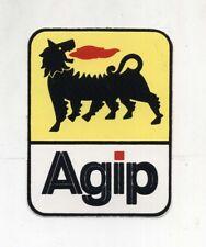 Adesivo AGIP Logo cane a sei zampe ENI NUOVO sticker Autocollant Vintage 1