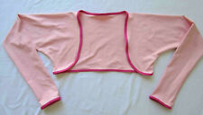 Women's Size S/M Bolero Cycling Arm Warmers Sun Sleeves Stretch Nylon Lycra Pink