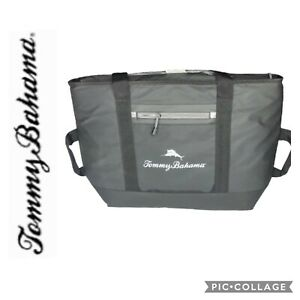 Tommy Bahama 30 Can Sport Tote Zip Cooler Bag Deep Freeze Insulation NWT