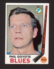 Phil Goyette St. Louis Blues 1969-70 Topps Hockey Card #21 EX/MT- NM