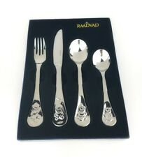 Raadvad Childrens Flatware 4-Piece Set Kids Fork Knife Spoon Stainless Denmark