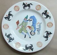 """WEDGWOOD BIG TOP 7"""" PLATE DESIGNED BY PETER WALL (Ref5746)"""