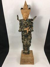 Vintage Balinese Chinese Coin Figurine Dewi Sri Goddess Handmade