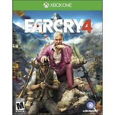 Far Cry 4 RE-SEALED Microsoft Xbox One 1 XB XB1 XB3 GAME FC FC4