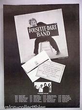 Pousette-Dart Band PRINT AD - 1976