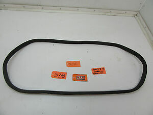 for 04 05 06 07 08 09 10 11 SAAB 9-3 CONVERTIBLE TRUNK SEAL RUBBER WEATHER STRIP