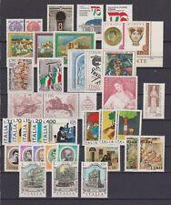s39692 ITALIA MNH 1976 Complete Year set 38v Annata  NO Espr.L.300