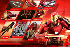 Hot Toys Avengers infinito Guerra Iron Man Mark L 50 accesorios 1/6 escala
