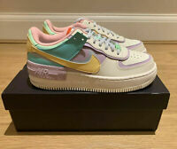 UK SIZE 8 / EU 42.5 - Nike Air Force 1 Shadow Trainers Pastel Pale Ivory NEW