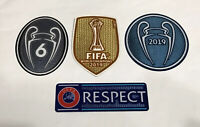 Liverpool FC 2019 Club World Cup Champion League Winner Soccer Patch Badge Set