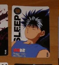 YUYU HAKUSHO CARDDASS CARD REG REGULAR CARTE 102 MADE IN JAPAN **