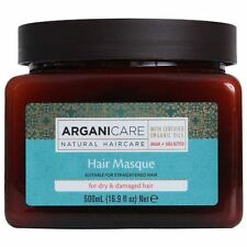 Arganicare Restoring Hair Masque for Dry & Damaged Hair Organic Argan Oil