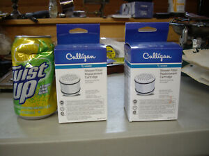 2 Culligan WHR-140 Water Filter Cartridge Shower Filter 10,000 gallons NOS