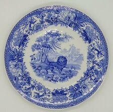 Spode Blue Room Collection AESOPS FABLES Dinner Plate Made in England