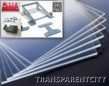 METACRILATO transparente,corte laser, A3(420x297x3mm)