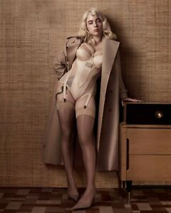 Billie Eilish Pop Star Singer Model Blonde Print Poster Wall Art Picture A4 +