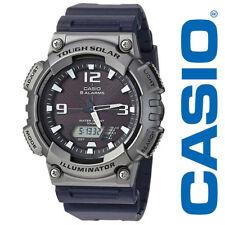 Casio Illuminator Men's 'Tough Solar' Quartz Resin Watch BLACK AQS810W-1A4VCF