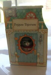 Catswitch Hollow PEGPAW TIGERSON- Cat Figurine- Hallmark -1993- MIB