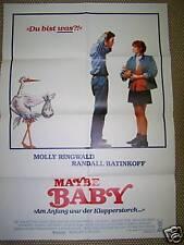 MAYBE BABY - Plakat A1 ´88 MOLLY RINGWALD !