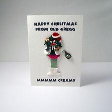 mighty boosh old gregg christmas card