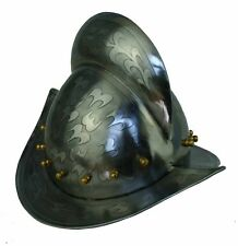 Morion Landsknecht Helm Conquistador Ritter Mittelalter Larp Rüstung sca R236