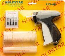 """Garment Price Label Tag Tagging Gun Kit 1 gun + 5 needle + 500 2"""" Std Fasteners"""