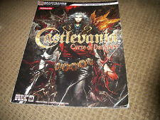 Castlevania Curse of Darkness Playstation 2 Strategy Guide PS2