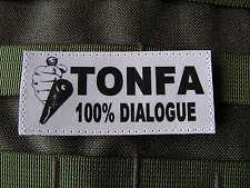 SNAKE PATCH - TONFA 100% DIALOGUE - Humour police Gendarmerie FANTAISIE