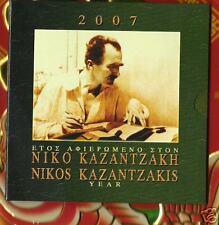GRIEKENLAND     2007    BU  SET   MET  10  EURO  ZILVER