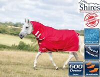 Shires Tempest Combo Neck Waterproof Turnout Horse Rug 0g Fill Lite